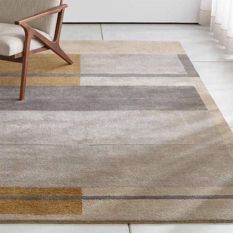 bauhaus sofas cama how do you clean fabric sofa arms kirk color block rug crate and barrel kirkrug6x9shf18