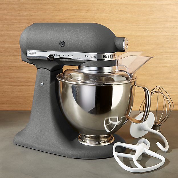 KitchenAid Artisan Imperial Grey Stand Mixer Crate And