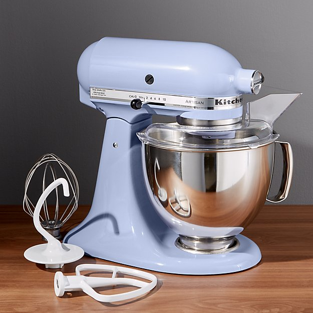 KitchenAid  Artisan Lavender Cream Stand Mixer  Crate