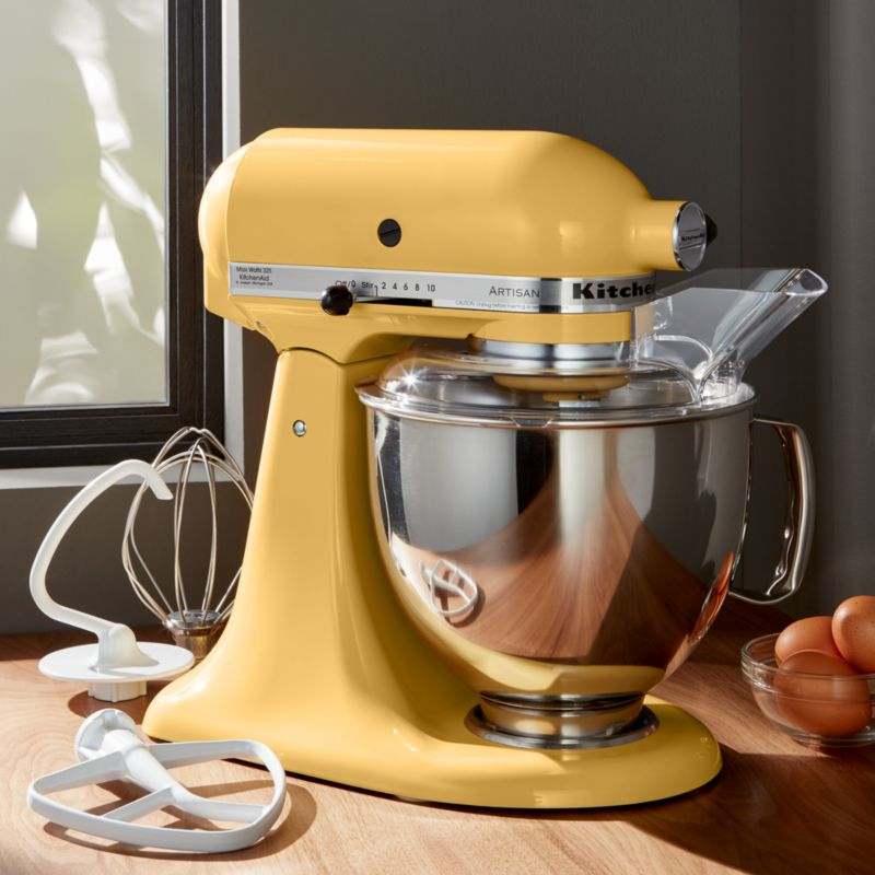 KitchenAid Artisan Majestic Yellow Stand Mixer Crate