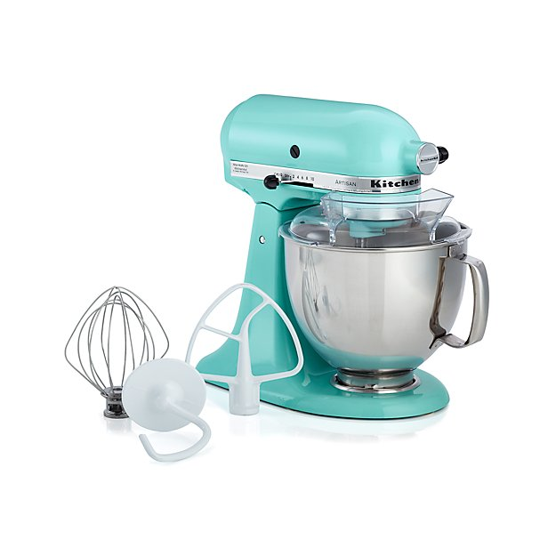 KitchenAid Ice Blue Stand Mixer Crate And Barrel