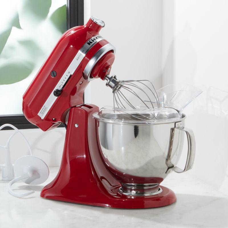 red kitchen aid mixer home styles monarch island kitchenaid ksm150pser artisan empire stand mix reviews crate kitchenaidartsemprdstndmxrshs18