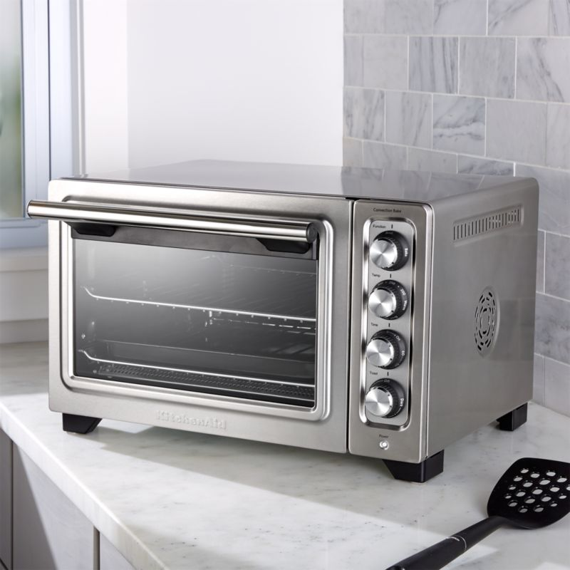 KitchenAid Compact Convection Toaster Oven  Reviews  Crate and Barrel