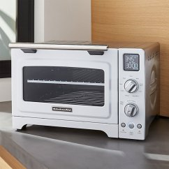 Kitchen Aid Toaster Oven Sprouted Book Kitchenaid White Convection | Crate And Barrel