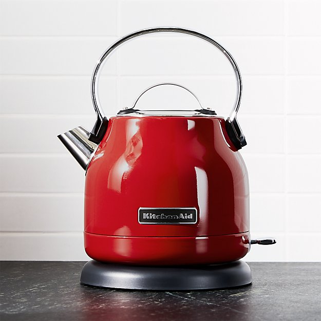 KitchenAid  Red Electric Kettle  Crate and Barrel