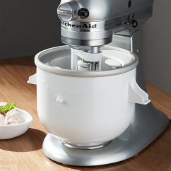 Kitchen Aid Professional 5 Plus Salvaged Cabinets For Sale Kitchenaid ® Stand Mixer Ice Cream Maker Attachment ...