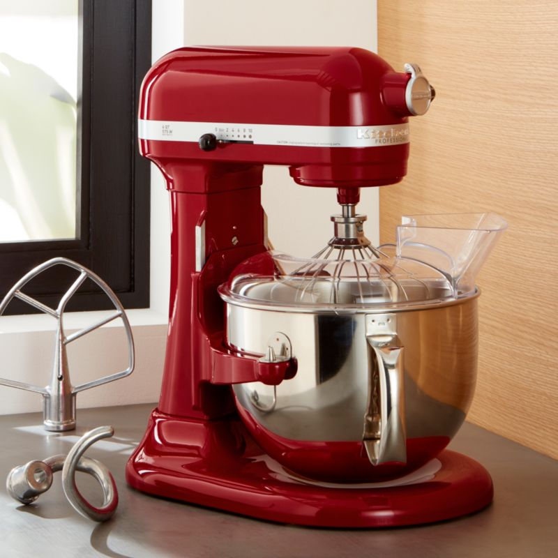 commercial kitchen aid mixer best brand for appliances kitchenaid pro 600 empire red stand + reviews ...