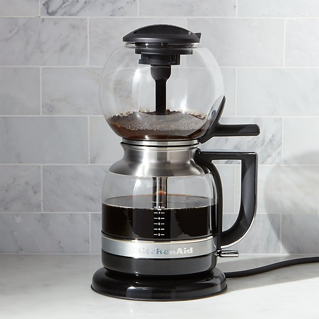 KitchenAid Siphon Vacuum Coffee Maker Crate And Barrel