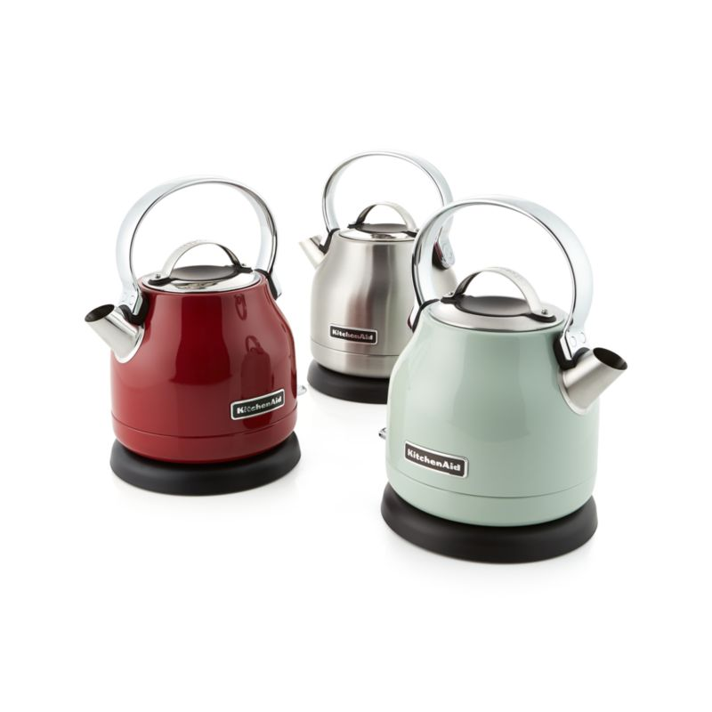 kitchen aid electric kettle high end cabinets kitchenaid pistachio in teapots ...
