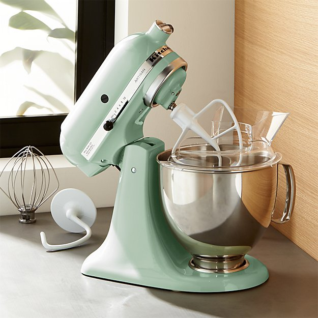 kitchen aid cookware build a kitchenaid ksm150pspt artisan pistachio stand mixe | crate ...