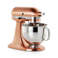 Kitchen Aid 5 Qt Mixer Black Cabinet Hardware Kitchenaid ® Copper Metallic Series Stand | Crate ...