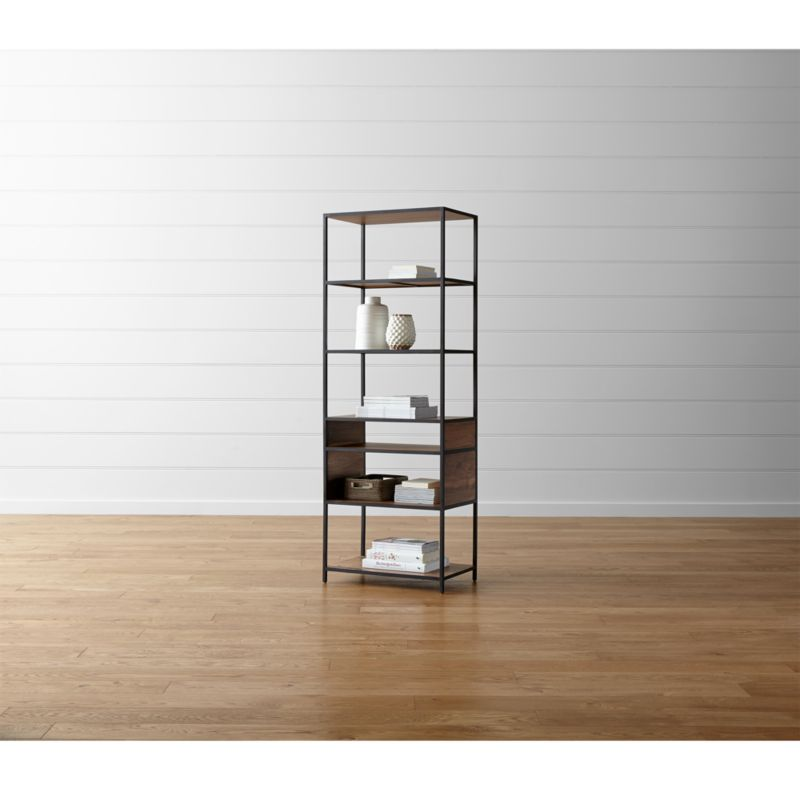 Knox Tall Open Bookcase  Reviews  Crate and Barrel
