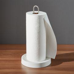 Kitchen Hand Towels Trailer Kohler Paper Towel Holder + Reviews | Crate And Barrel