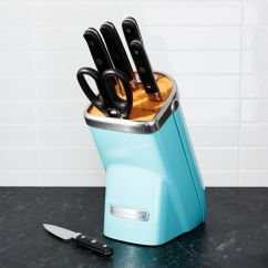 Kitchen Aid Professional 5 Plus Toddler Play Kitchens Kitchenaid Series 7-piece Knife Block Set ...