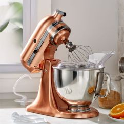 Copper Kitchen Aid Full Hotels Kitchenaid Metallic Series Stand Mixer Reviews Crate And Barrel