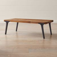 Lakin Recycled Teak Coffee Table + Reviews | Crate and Barrel