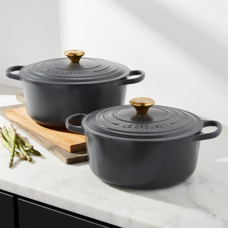 Le Creuset Graphite Dutch Oven Crate And Barrel
