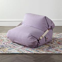 Bean Bag Chairs For Boys Steel Chair Material Kids Floor Pillows Poufs Crate And Barrel Adjustable Light Purple