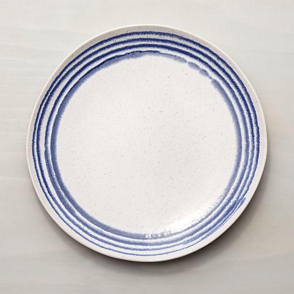 lina blue stripe dinner