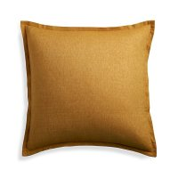 """Linden Gold 23"""" Pillow Cover 