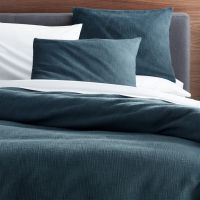 Lindstrom Blue Duvet Covers and Pillow Shams | Crate and ...