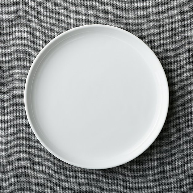 Logan Stacking Dinner Plate  Crate and Barrel