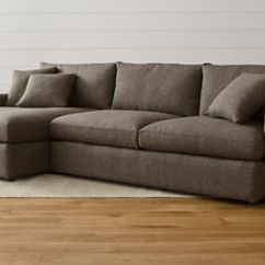 Build Sectional Sofa Best Home Furnishings Reclining Reviews Your Own Crate And Barrel Lounge Ii Sofas