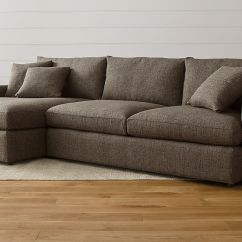 Crate And Barrel Sofas Canada Dfs 2 Seater Sofa Recliner Lounge Ii 2-piece Sectional - Truffle |
