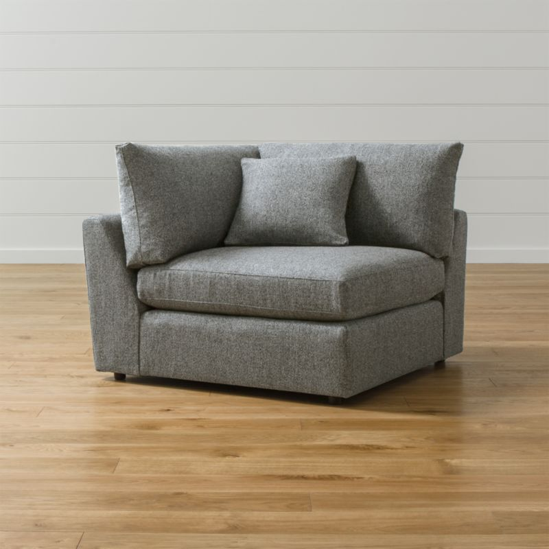 Lounge II Corner Chair  Reviews  Crate and Barrel