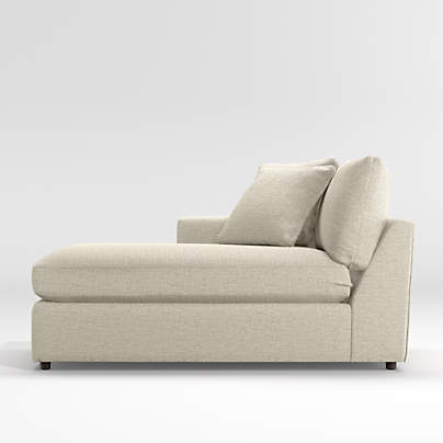 lounge ii deep seated sectional sofa reviews crate and barrel