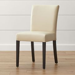 Leather Dining Chairs Blazing Needles Papasan Lounge Chair Cushion Lowe Ivory Crate And Barrel