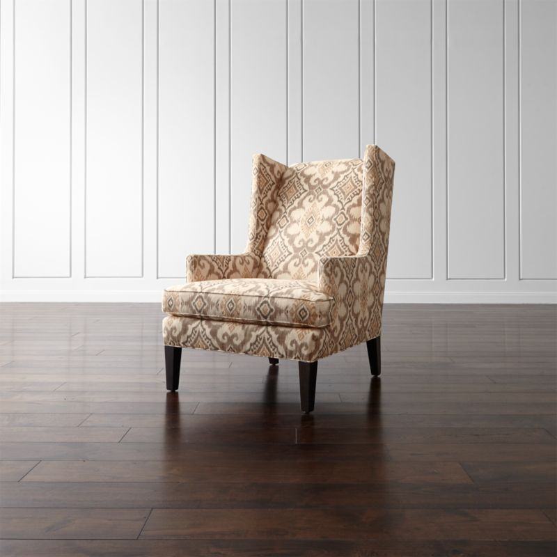 Wing Chair Slip Cover