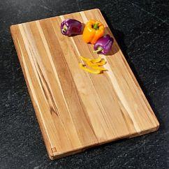 Kitchen Cutting Boards To Go Cabinets Wood Plastic Epicurean Crate And Barrel Madeira Edge Grain Teak Jumbo Chop Block