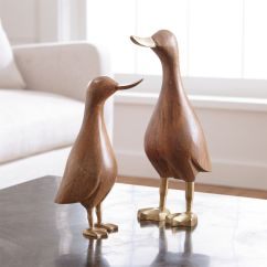 Durable Office Chairs Modern Reception Wood Mallard Ducks | Crate And Barrel