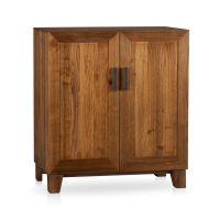 Marin Natural Bar Cabinet in Bar Cabinets & Bar Carts ...