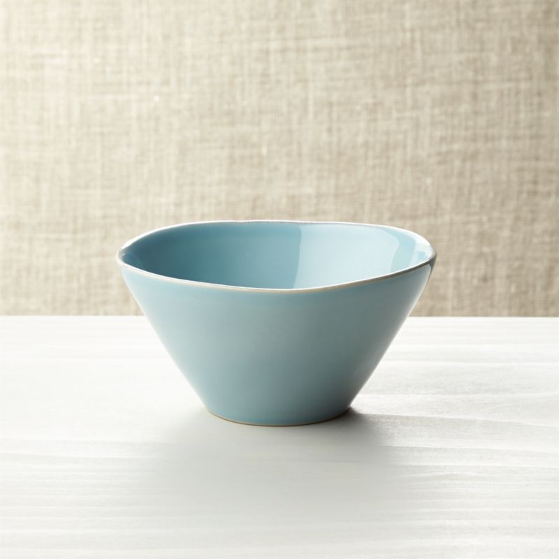 Marin Blue Bowl Reviews Crate And Barrel