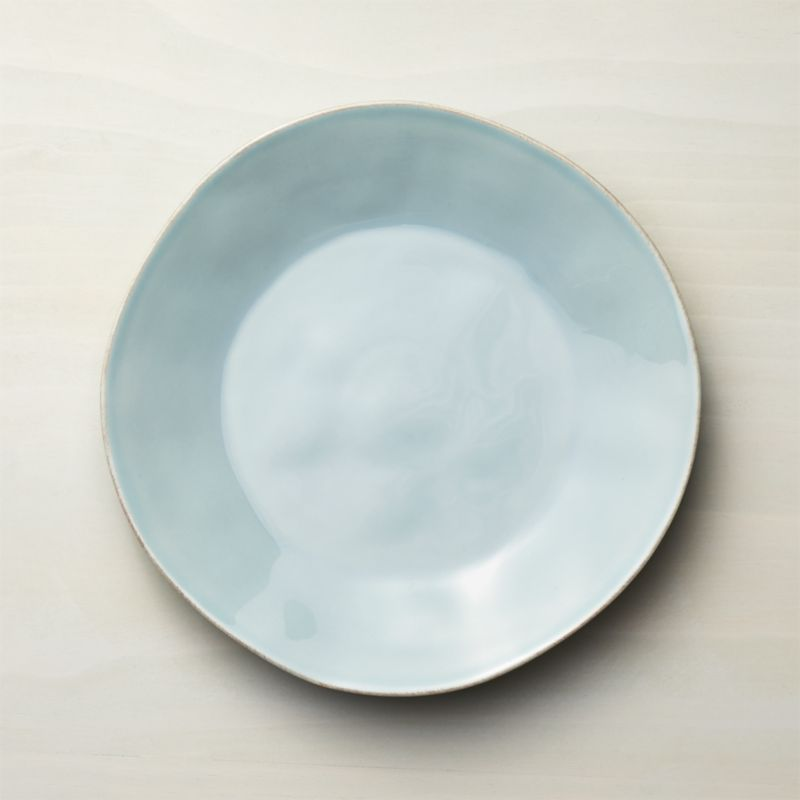 Marin Blue Dinner Plate  Reviews  Crate and Barrel