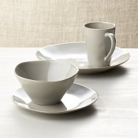 Marin Grey Dinnerware | Crate and Barrel