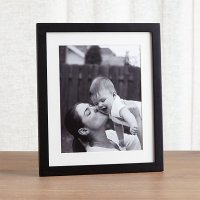 Matte Black 8x10 Picture Frame | Crate and Barrel
