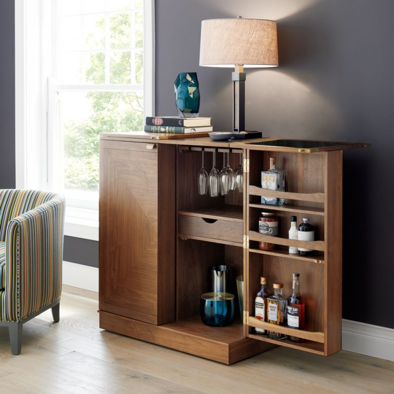 Maxine Bar Cabinet  Reviews  Crate and Barrel
