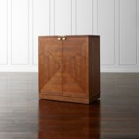 Maxine Bar Cabinet + Reviews | Crate and Barrel