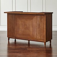 Maxine Bar Cabinet | Crate and Barrel