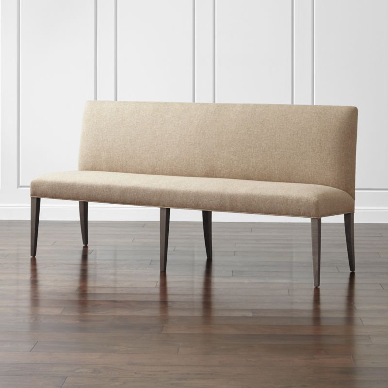 Miles 76 Upholstered Grand Dining Banquette Bench