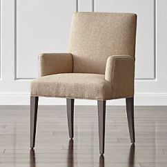 Chair With Arms Waiting Room Chairs Dining Crate And Barrel