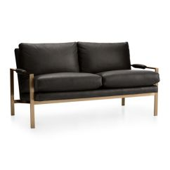 Next Day Sofas Customer Reviews What Colour Walls Go With Brown Leather Sofa Milo Baughman Settee Brushed Brass Base In ...