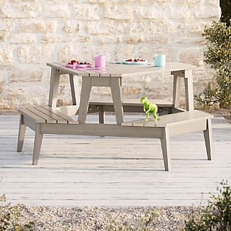 kids outdoor chair cushions with ties target chairs crate and barrel grey stain modern picnic table