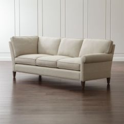 Crate And Barrel Willow Twin Sleeper Sofa Family Picture Troy Sectional ...