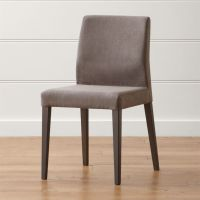 Monterey Charcoal Dining Chair | Crate and Barrel