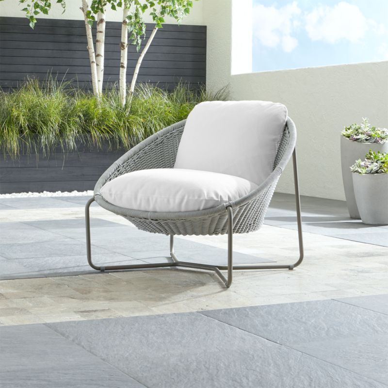 light grey chair for teenage girl bedroom morocco oval lounge with cushion reviews crate moroccoltgryovalchairwcushshs18 1x1