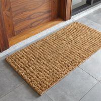 Natural Coir Doormat + Reviews | Crate and Barrel